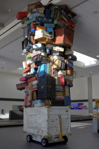 Baggage claim at the Sacramento airport (via Rob Faulkner).