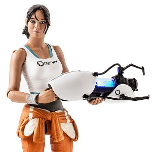 You Kick Ass cofounder Alesia Glidewell became an action figure when Valve made a collectible of her character from the Portal games.