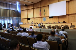 The Seattle City Council on  Monday voted 8-1 to approve new TNC regulations.