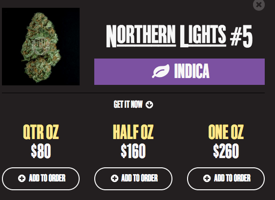 DowntownDev lets you order pot online.