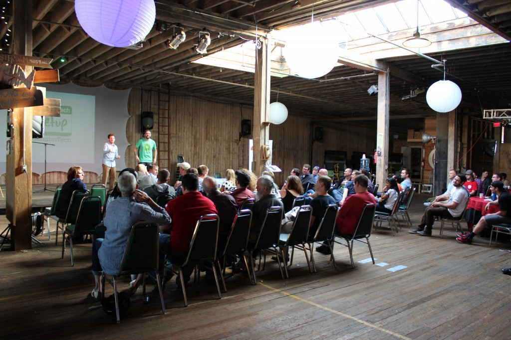 The Magical Butter Studios hosted the first-ever Cannabis Tech Meetup in Seattle on Monday.
