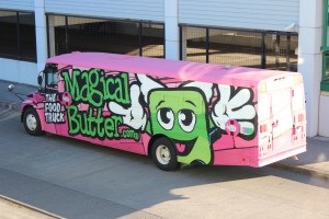 """Magical Butter's """"Samich"""" food truck sells pot-infused dishes."""
