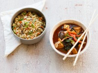 Just added to the Lish menu: Chef Prakash Niroula adds a new dish to the Lish menu. Chili Garlic Tofu & Vegetable Fried Rice.