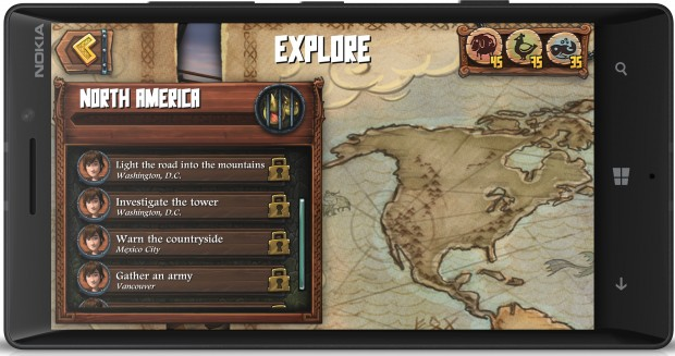Dragons adventure game for windows blends real world and fantasy lumia 930 dragons adventure explore menu gumiabroncs Image collections