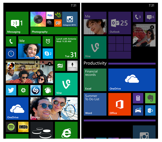 Microsoft's Windows Phone gets 'Live Folders' on Start screen
