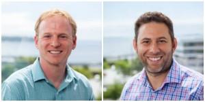 Skykick co-founders Evan Richman and Todd Schwartz.
