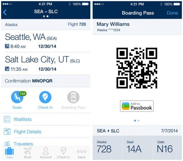 App Of The Week Alaska Airlines Facelift Brings Ios 7 To