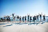 The Bizible team is jumping for joy after raising $8 million.
