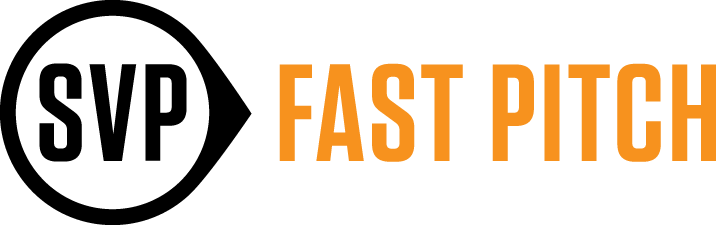 Fast Pitch Logo with Pointer