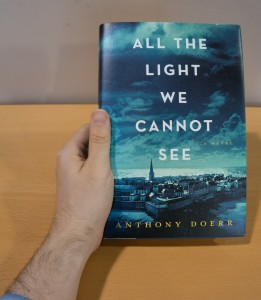 Anthony Doerr's latest novel, the first book to arrive in our race.