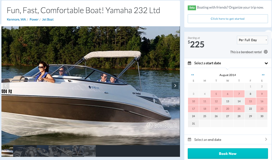 The Airbnb for boats: We tested out Boatbound and saw Paul