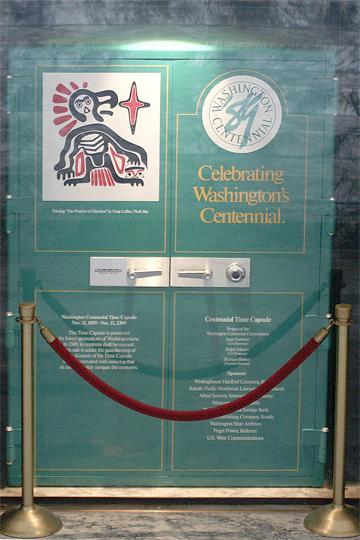 1989 Washington Centennial Time Capsule