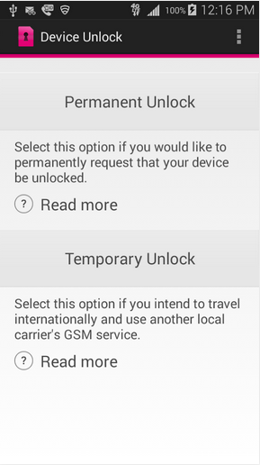 T-Mobile now offers app that unlocks your smartphone