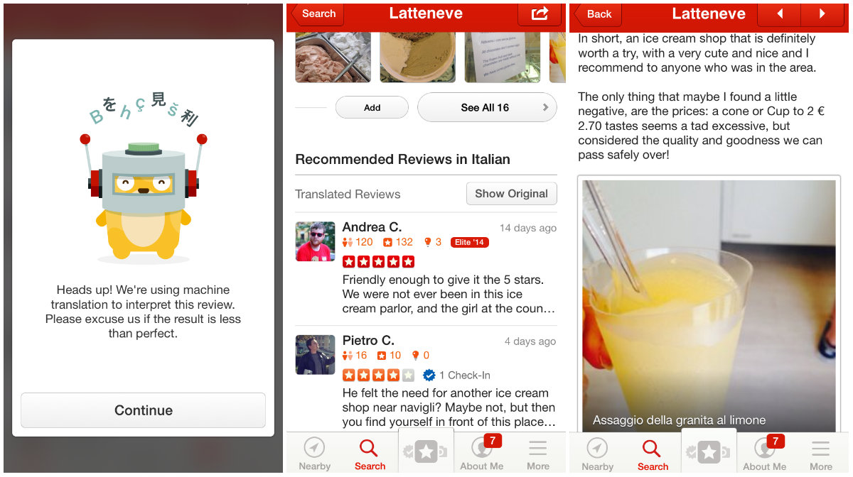 Yelp picks Bing over Google to translate reviews in 15 languages