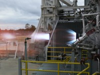 Blue Origin's BE-3 rocket engine, a predecessor to the engine to be developed by the company for U.S. spaceflight.
