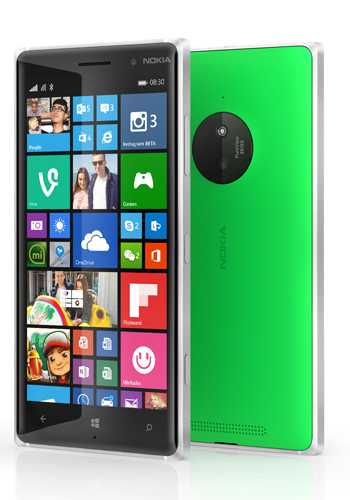 Lumia 830.