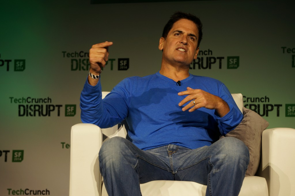 Mark Cuban at TechCrunch Disrupt 2014