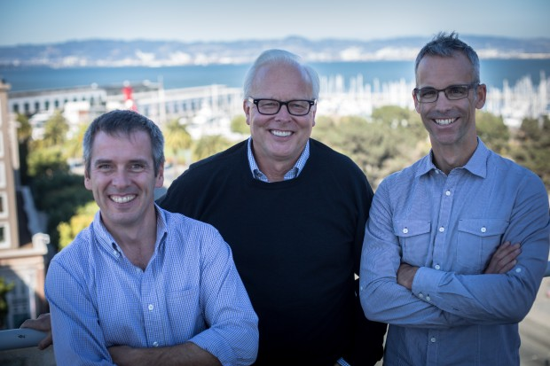 Talko founders Eric Patey, Ray Ozzie and Matt Pope.