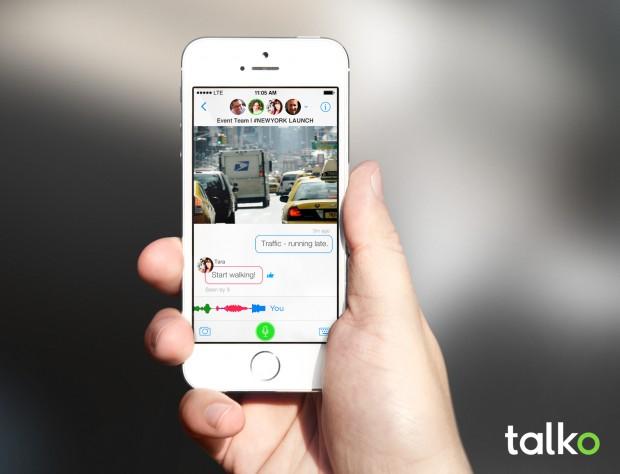Talko_PhoneScreen