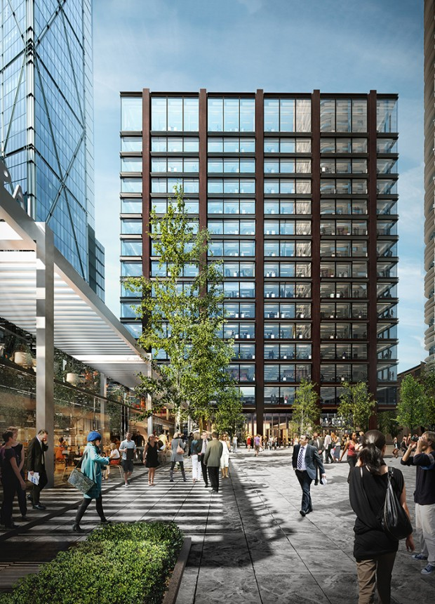 Amazon Plans London Office Tower With Room For 5 000
