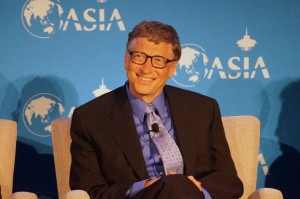 Bill Gates at an earlier Asia-U.S. economic forum in Seattle (GeekWire File Photo)
