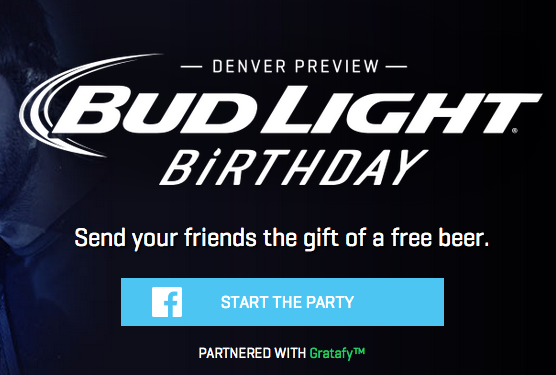 The Gift Of Beer You Can Now Send Budweiser To Facebook Friends