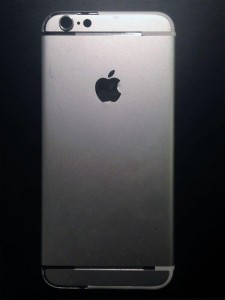 An image purportedly of the next iPhone's backplate. (Source: Sonny Dickson)