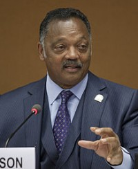 Jesse Jackson, photo via Wikipedia
