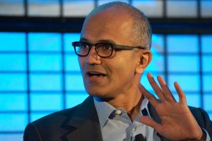 Microsoft CEO Satya Nadella in Seattle last month.