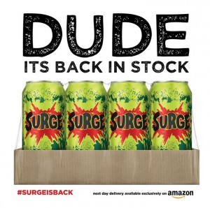 surge on amazon