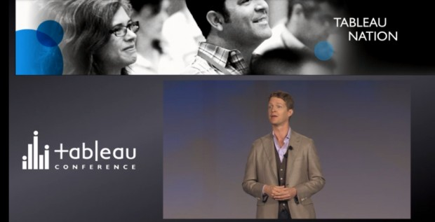 Christian Chabot at the Tableau Summit in Seattle