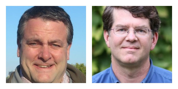 United Seed Fund founders Dave Richards and Will Poole.