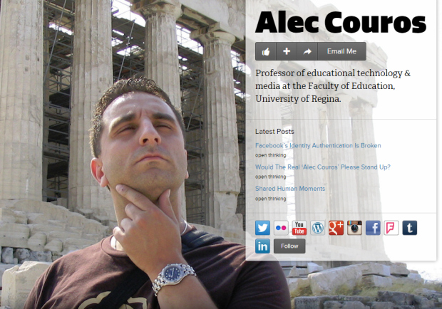 The real Alec Couros