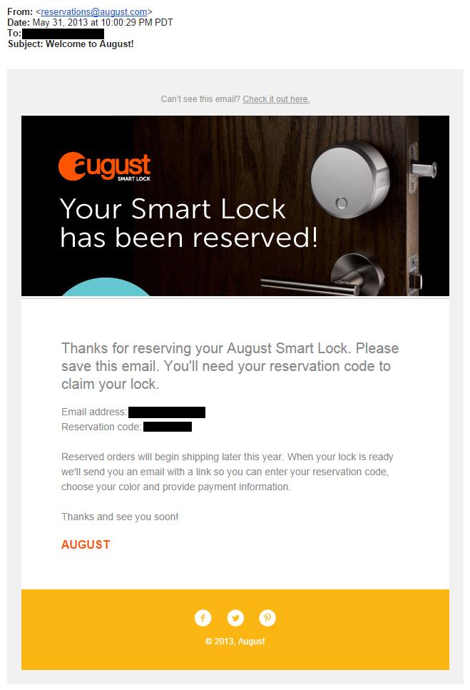 August Smart Lock Apple Watch August Smart Lock Skips Over