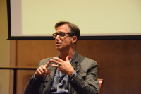 Zillow co-founder Rich Barton speaking at the University of Washington as part of Seattle Startup Week