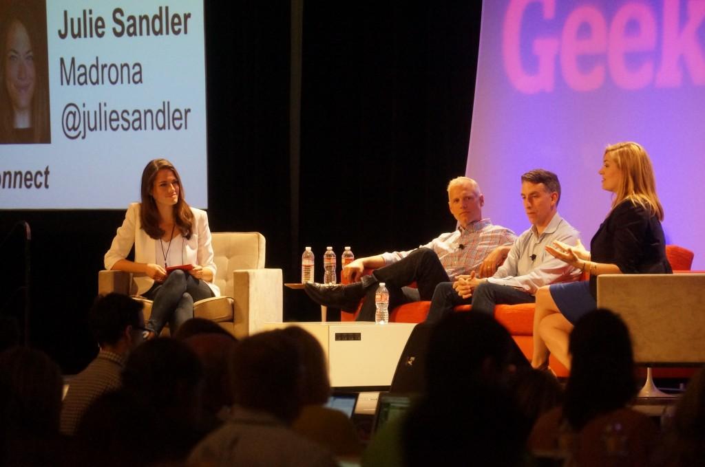 Julie Sandler, Barry Crist, Glenn Kelman and Sarah Bird