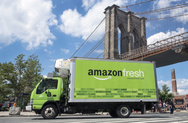 Amazon Fresh has been around for seven years, but is only available in six cities.