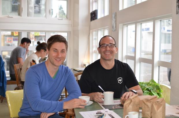 Bean Box founders Matthew Erke and Ryan