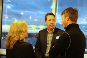 Steven VanRoekel, the U.S. CIO, at the GeekWire Summit pre-party Wednesday night.