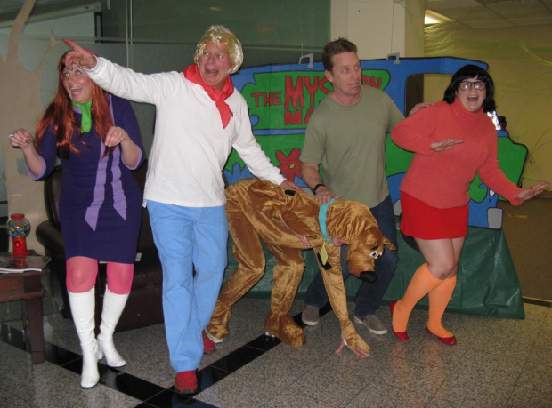 employees from spokane based nextit went scooby doo for halloween this year