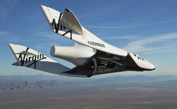 SpaceShipTwo (Credit: Virgin Galactic)