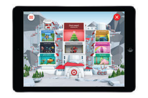 Target's new wish list app for the holidays.