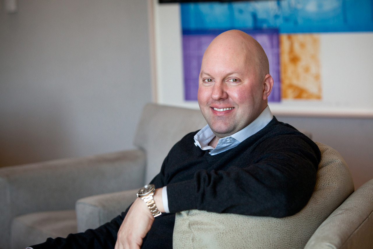 Marc Andreessen is retweeting a lot about weed today