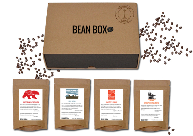 Bean Box A Collection Of Coffee From Seattle Roasters