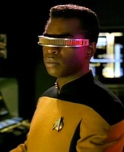 Geordi La Forge. Photo via Wikipedia.