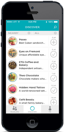 """Lucky Oyster's """"Pearls"""" app helps people discover great experiences."""