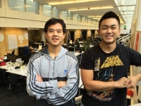 MightySignal co-founders Shane Wey and Jason Lew.