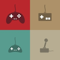 Video game image via Shutterstock