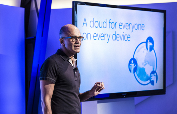 Microsoft CEO Satya Nadella ran the Azure business previously. (Microsoft photo)