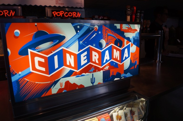 World's greatest movie theater? Paul Allen's Cinerama gets a